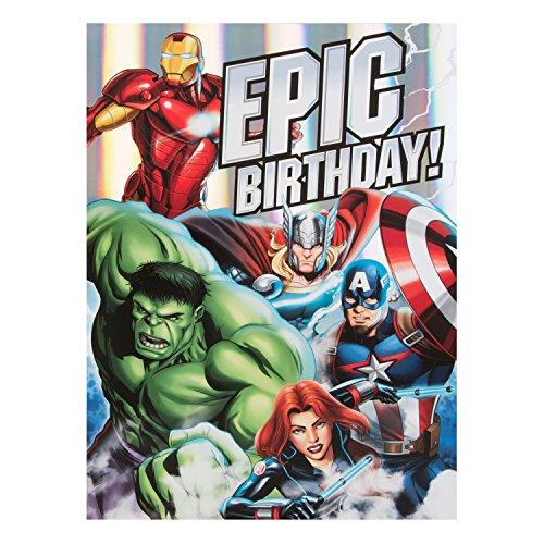 Marvel birthday cards amazon bookmarktalkfo Gallery