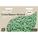 Unwins Graines Imagé Paquet–Engrais vert moutarde–12000Graines