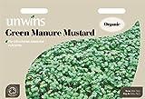 Unwins Pictorial paquete–Abono verde mostaza–12000semillas