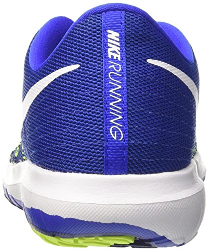 Nike Flex Fury 2, Scarpe Running Uomo Blu (Racer Blue/white-volt-deep Royal Blue)