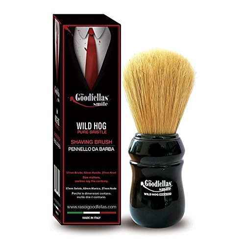 The goodfellas' smile pennello da barba - pacco da 1 x 100 ml - totale: 100 ml