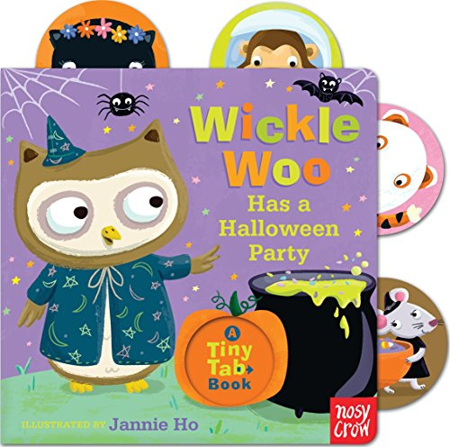 Wickle Woo Has a Halloween Party (Tiny Tab Book) por Nosy Crow