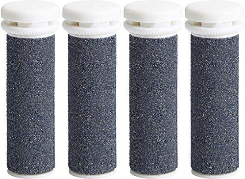 My Rollers Ersatzwalzen mit Mineralien für Emjoi Micro Pedi (4er Set) Super Grob