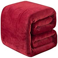 Yozika New Glacial Microfiber All Season Polar Soft Warm Fleece Blanket for Home ( Double Bed 90x90 Inches Set of 1…