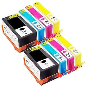 Sophia Global Cartouches d'encre remanufacturées pour HP 920XL (2 Noir, 2 Cyan, 2 Magenta, 2 Jaune)