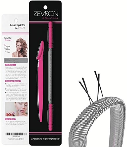 Facial Hair Remover Kit Quick And Effective Epilator For Removing Unwanted Facial Hair Includes Eyebrow RazorTrimmer