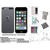 Apple iPod Touch 128 Go - Gris + Accessoires supplémentaires 6ème génération **Nouveau Modèle Juillet 2015**