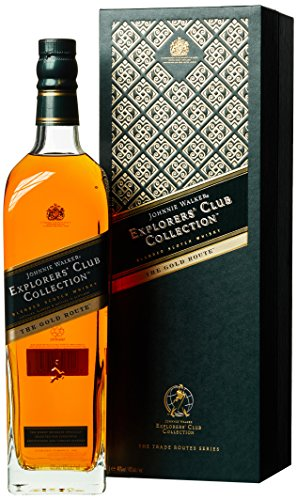 *Johnnie Walker Explorer's Club Collection The Gold Route mit Geschenkverpackung  Whisky (1 x 1 l)*