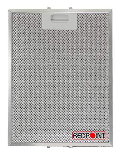 Filtro aluminio campanas 247 x 327 x 9 mm Adaptable: