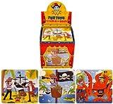 6 Piraten Puzzle Spielsachen Geschenk Gefallen Kinder Partytüten Füllung