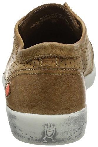 Softinos - Ica388sof, Scarpe da ginnastica Donna Brown (Brown)