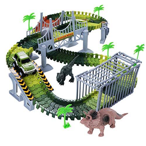 Dreamingbox Spielzeug für Jungen 4-8 Jahre, Dinosaurier Auto Spielzeug für Kinder Spielzeug Mädchen 4-8 Jahre Geburtstag Geschenke für Jungen Mädchen ab 4-8 Spielzeug verfolgen für Kinder (Für 7 Jungen Jahre Alt Spielzeug)