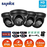 SANNCE 720P 1.0 Megapixel Super Day Night Vision - Best Reviews Guide