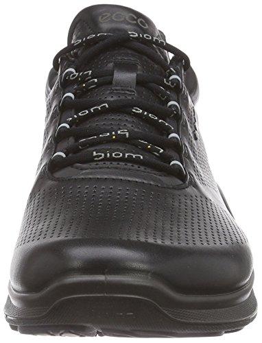 Ecco Biom Fjuel, Chaussures Multisport Outdoor homme Noir (1001Black)