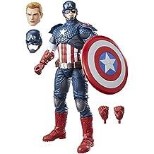 Hasbro Marvel Legends Series B7433EU4 - Personaggio Captain America, 30 cm