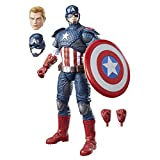 Avengers Marvel - Figura de Captain America, Legends (Hasbro B7433EU4)