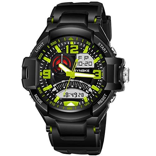 REALIKE Herrenuhr Elektronische Uhr Armbanduhren Sport im Freien Uhren Schwimmen Wasserdicht Kreative Uhr Mode Ultradünn Britische Artart und Weise Neue High End Geschäftsuhr Business
