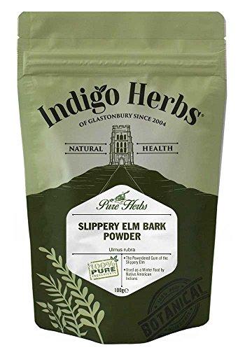 Indigo Herbs Ulmenrinde Pulver 100g - Slippery Elm -