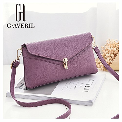 G-AVERIL, Borsa a mano donna Red Wine Purple