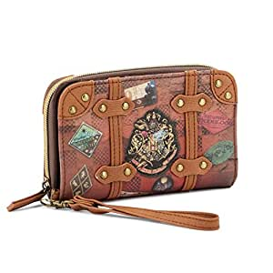 Karactermania Harry Potter Railway-Portefeuille Porte-monnaie, 16 cm, Marron