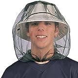 Paquet de 2 Mosquito Head Net, ANGTUO Moustiquaire portatif léger léger et filet de tête de moucheron pour le camping / voyage / randonnée / pêche