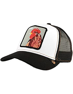 Goorin Bros–Gorra con diseño de gallo, en color negro, para hombre/mujer
