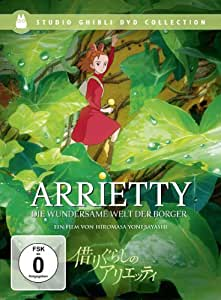 Arrietty-die Wundersame Welt der Borger Se [Import allemand]