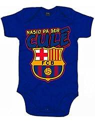 Body bebé Nacido para ser culé Barça nascut per ser culé