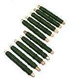 10 rollen wikkeldraad groen bloemendraad binddraad van 100 g 0,65 mm 1 kg