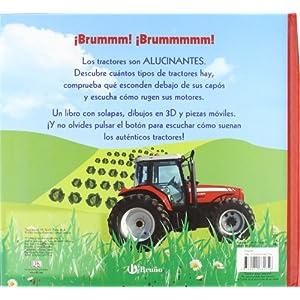 Mis alucinantes tractores: ¡Un libro con solapas, dibujos en 3D, piezas móviles y sonido! (Castellano - Bruño - Pop-Up - Mis Alucinantes...)