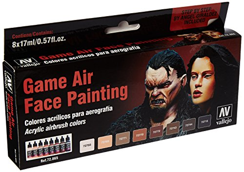 Acrylicos Vallejo'Face painting' Game Air
