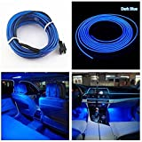 UNIQSTUFF™ EL Wire Car Interior Light Ambient Neon Light 5 Meter Roll