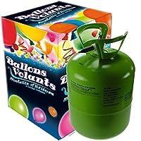 Bouteille Hélium avec 30 ballons et bolduc