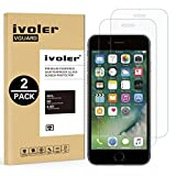 iVoler [Pack de 2] Verre Trempé pour iPhone 6S Plus/iPhone 6 Plus [Garantie à Vie], Film Protection en Verre trempé écran Protecteur vitre (0,3mm HD Ultra Transparent)