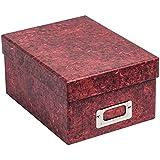 albox700red photo Album Company marbre rouge photo rigide de rangement Boîte Cadeau. Ranger 5504x 6(10x 15cm) Photos