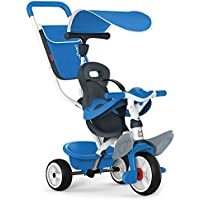 Smoby - Tricycle Baby Balade 2 - Tricycle Evolutif avec Roues Silencieuses - Dispositif Roue Libre