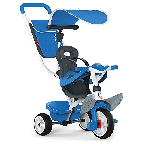 Smoby - 741102 - Tricycle Baby Balade 2 - Tricycle Evolutif avec Roues...