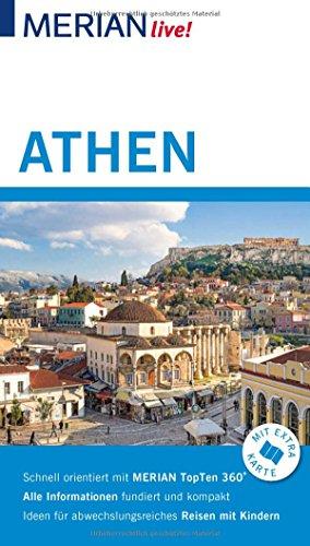 MERIAN live! Reiseführer Athen: Mit Extra-Karte zum Herausnehmen