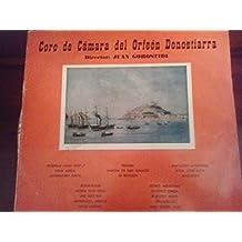 Coro de Cámara del Orfeón Donostiarra.