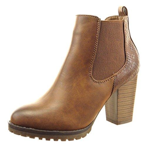 sopily-zapatillas-de-moda-botines-chelsea-boots-a-medio-muslo-mujer-piel-de-serpiente-talon-tacon-an