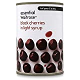 Black Cherries in Light Syrup essential Waitrose 425g