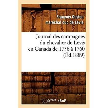 Journal des campagnes du chevalier de Lévis en Canada de 1756 à 1760 (Éd.1889)