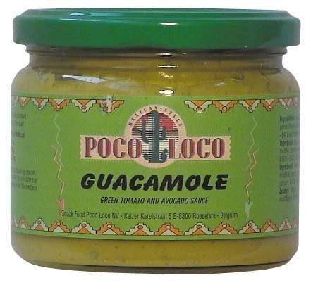Loco Poco - Guacamole - Avocado Sauce - im Glas - 300g