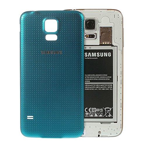 Cover posteriore della batteria color blu per Samsung Galaxy S5SM-G900F.