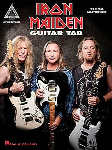 Iron Maiden: Guitar Tab - 25 Metal Masterpieces (Guitar Recorded