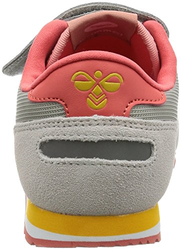 Hummel Reflex Jr, Sneakers Basses Mixte Enfant Orange (Rose Dawn)