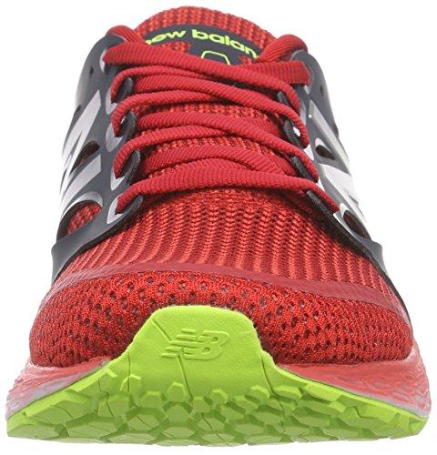New Balance MBORA, Chaussures de course homme Rouge (Black/Red/009)