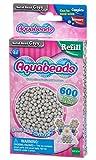 Aquabeads 32648 Perlen Bastelperlen nachfüllen grau