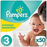 Pampers Premium Gr.3, 5-9 kg, 50 Windeln