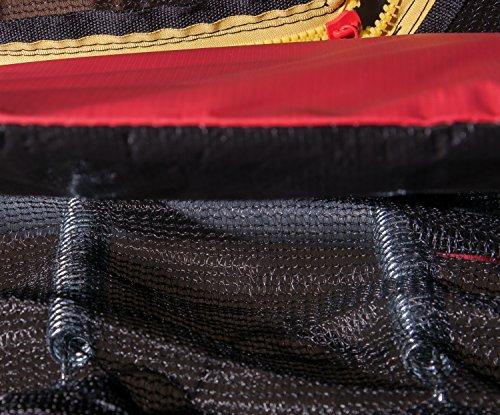 HUDORA Fantastic Trampolin 300 cm - Gartentrampolin mit Sicherheitsnetz - 65730 -